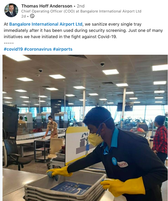 bangalore airport measures-covid-19