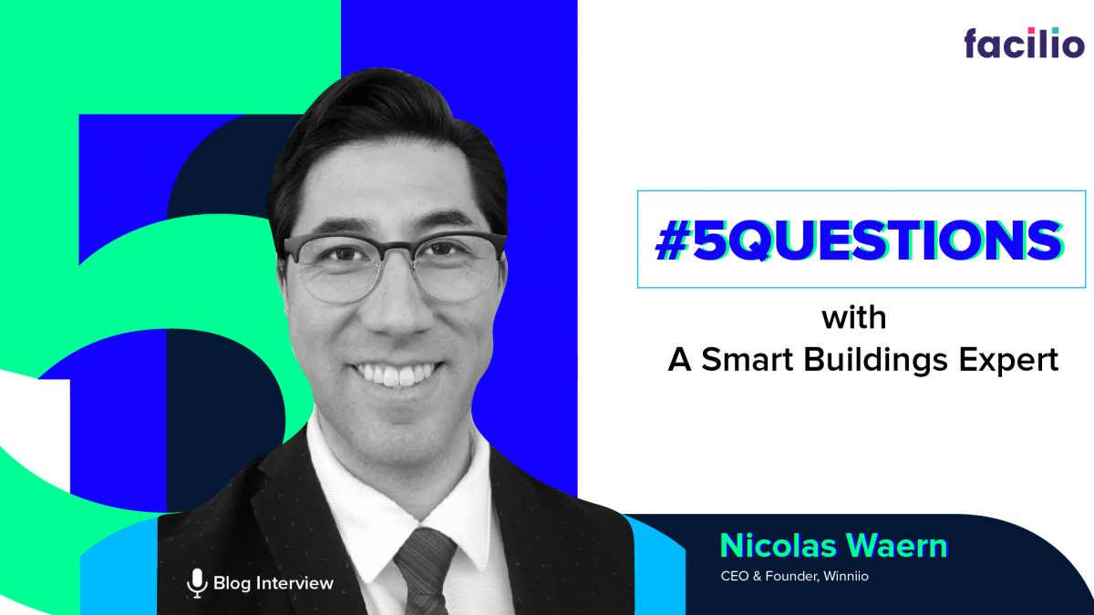 #5QuestionsWith A Smart Buildings Expert