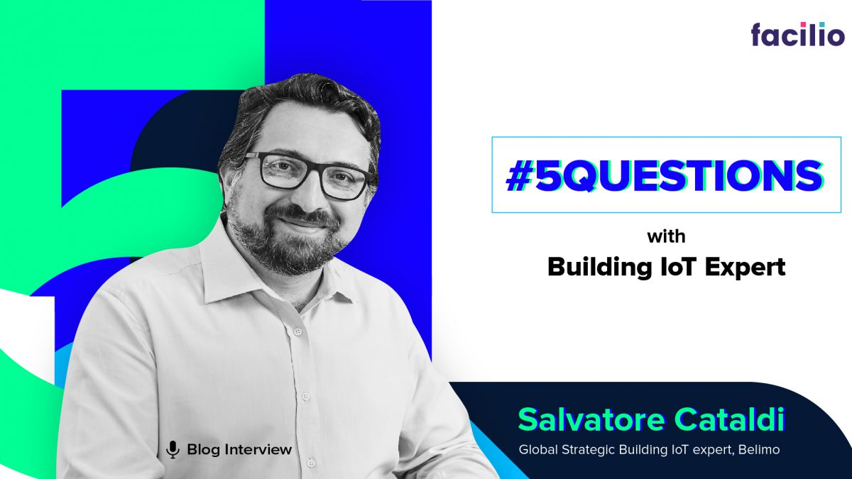 #5QuestionsWith Building IoT Expert