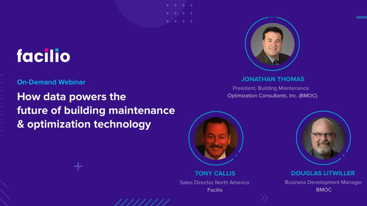How data powers the future of building maintenance & optimization technology?